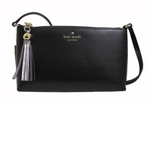 Kate Spade Amy Ivy Street Leather Cross Body Bag